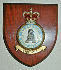 208 Squadron Royal Air Force mess wall plaque shield crest RAF