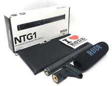 Rode Ntg-1 Directional Condenser Microphone - Video Shotgun Microphone New