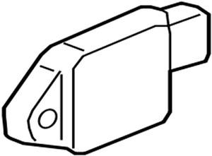 959303X100 Kia Sensor assyfront impact 959303X100, New Genuine OEM Part