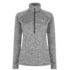 Under Armour Womens Tech Twist ½ Zip Long Sleeve Pullover Black Size Small I