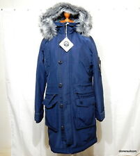 "NEW mens S (36""- 38"") Hollister Winter Parka Coat Warm 90/10 Down RRP £260.00"