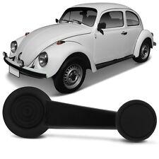 VW Window Crank Handle Black 2pcs Bug Thin HD VW Beetle Karmann Ghia Bus Type 3