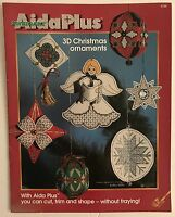 AidaPlus 3D Christmas ornaments Counted Cross Stitch Chart