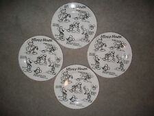 Disney Sketchbook Mickey Mouse Dinner Plates Set/4 NEW RARE Collect Fine China