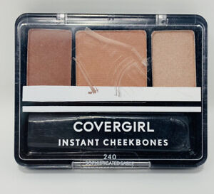 CoverGirl Instant CheekBones Contouring Blush - 240 Sophisticated Sable - Sealed