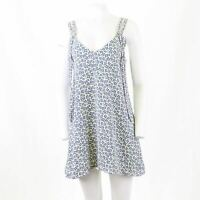 Zara Ditsy Floral Print Summer Slip Mini Dress S 10 OTOT