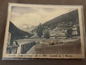 ETROUBLES Aosta Viaggiata SAN BERNARDO SAINT OYEN