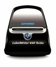 Fabricante De Etiquetas Dymo Labelwriter 450 TURBO, NEGRO/PLATA