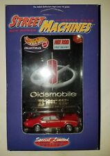 HOT WHEELS COLLECTIBLES 1969 OLDS 442 RED LIMITED EDITION SERIES 1 OF 4