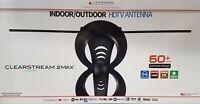 Clearstream 2 Max Indoor/Outdoor HDTV Antenna 60+ Mile Range - Free TV