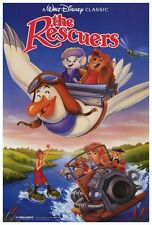 """The Rescuers Movie Poster [Licensed-NEW-USA] 27x40"""" Theater Size DISNEY"""