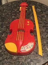 VINTAGE 1980s 80s TOMY TOMYTIME divertente con musica violino