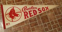 VINTAGE  BOSTON RED SOX Pennant * Great Condition*  ( Old Style Logo)