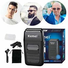 Kemei Rechargeable Men's Electric Dual Foil Shaver Beard Trimmer Cordless Razor