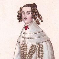 Portrait Anne Budes Mademoiselle de Guébriant Nièce Maréchale de Guébriant