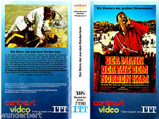 "VHS - "" Der MANN der aus dem NORDEN kam "" (1967) - George Hilton - ITT contrast"