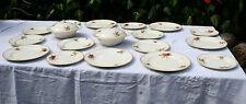 Vintage Dinner Set Service Plates & Tureens 19 Pieces A J Wilkinson Ltd 1930s