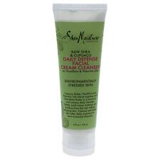 Raw Shea & Cupuacu Daily Defense Facial Cream Cleanser by Shea Moisture - 4 oz