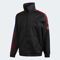 Adidas Originals Mens 3D Trefoil 3-Stripes Track Top black