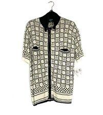 NWT Jean Paul Gaultier Maille Zipper Sweater Jacket SZ 42 Vintage