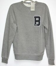 Bench Pull/ Sweat Gris TAILLE S NEUF avec ÉTIQUETTE