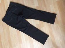 ROSNER Jeans ABBY1 Gr. 40 / 32 (gekürzt) gerades Bein dunkelbraun NEUWERTIG