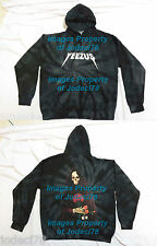 *AUTHENTIC* Kanye West Yeezus Tour TIE DYE Reaper Roses Hoodie Sweater SMALL