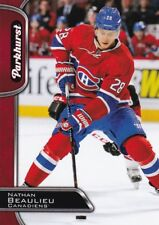 Nathan Beaulieu 2016-17 UPPER DECK parkhurst, (Rojo), Hockey cartas