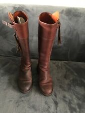 El Guadarnes Spanish Riding Boots brown Size 35 uk 3