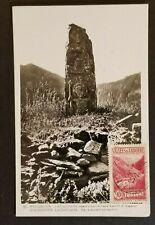 1932 Andorra to Vaduz Switzerland La Cortinada Real Picture Postcard Cover