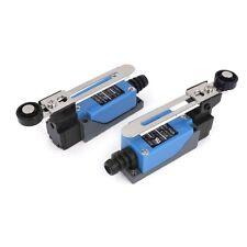 2Pcs ME-8108 Adjustable Roller Lever Arm Limit Switch NC-NO CNC Mill Router