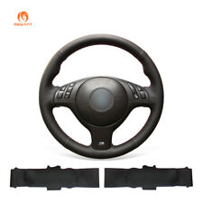 Hand Sew Leather Steering Wheel Cover for BMW E36 E36/5 E46/5 5 Series E39 M3 M5