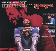 Marvin Gaye 2001 Very Best Of Promo Poster