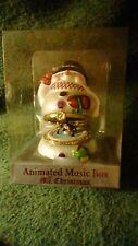 Mr. Christmas Snowman Animated Music Box