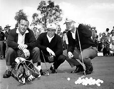 Arnold PalmerGary Player & Jack Nicklaus 11 x 14 Print  #  #3186