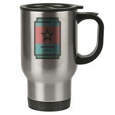 Geek Travel Mug - Drink Soda Can - Thermal Eco - Stainless Steel
