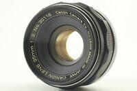 【Near Mint】 Canon 35mm F/2 Leica Screw Mount L39 LTM MF Lens From JAPAN 447