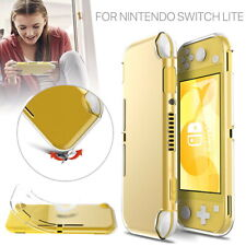for Nintendo Switch Lite Protective Case Cover Clear Soft TPU Tempered Glass