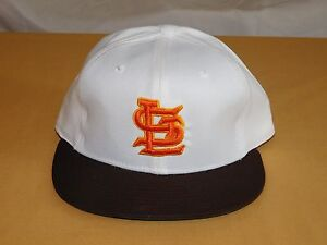 VINTAGE  BASEBALL HAT CAP ST LOUIS BROWNS  NEW ERA PRO MODEL WOOL NEW NOS