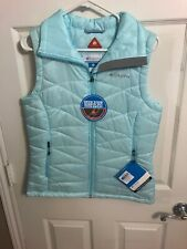 Womens Columbia Mighty Life lll Vest Omni Heat Reflective M Nwt $90