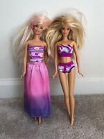 Barbie Lot Of 2 1999 Mattel Swimsuit And Island Girl Dolls