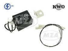 PLITZ & KWO Elektronischer Blinkgeber 6V mit opt. Kabelbaum Simson S50 S51 S70