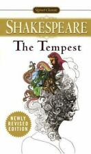 The Tempest by William Shakespeare Mass Market Paperback Book (English)