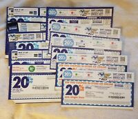 Bed Bath & Beyond 20% Off Single Item Coupons - 10 Coupon Lot #3