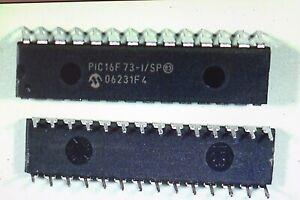 IC PIC 16F73-I/SP Microchip    2Stück
