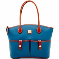 *NWT*Dooney & Bourke* Jeans Blue*Crescent Tote*18321N S180