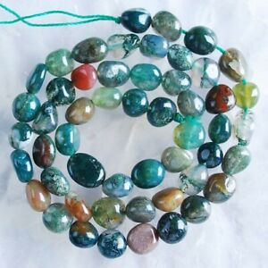"""VD2602-b Indian  Agate Loose Beads 16"""""""