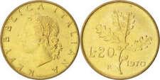 Pièces de monnaie d'Europe du Sud en bronze, de Italie