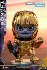 Hot Toys Thanos Golden Armor Bobble-Head  Cosbaby Doll Avengers:Endgame Figure