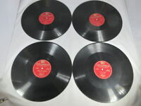 JOHNNIE RAY 78 RPM RECORDS LOT OF 4 Red label Columbia C-288 (1-8) Excellent!